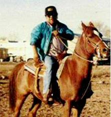 Bob on a horse!